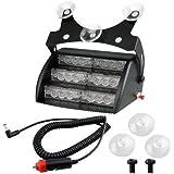 CARCHET® 18 LED Lumière Flash Stroboscope Clignoter Blanc Urgence Alerte Voiture 4 Mode