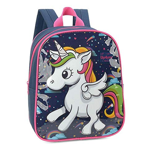 MOCHILA PETIT UP4YOU UNICORNIO - LUXCEL IS32609UP-BR
