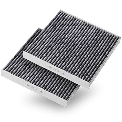 Honda Carbon - Puroma 2 Pack Cabin Air Filter with Activated Carbon, Replacement for CP134, CF10134, Honda & Acura, Civic, CR-V, Odyssey, CSX, ILX, MDX, RDX, AT134