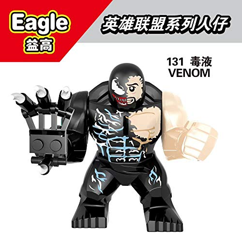 XH132 Venom&Carnage Marvel Avengers Super Heroes Riot Thanos Hulk Action Figure Building Blocks Toys for Children 131
