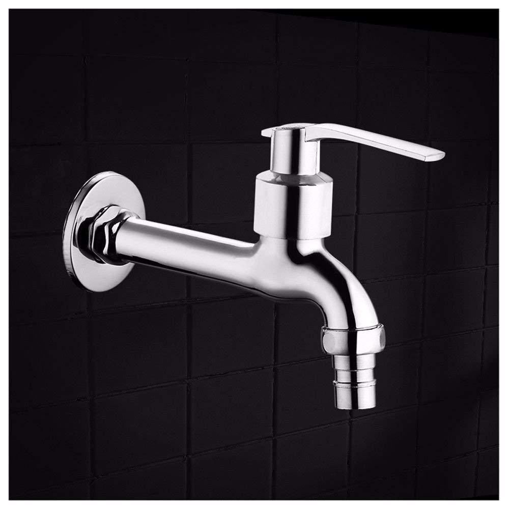 NANIH Home Waschbecken Mischbatterie Badezimmer Küchenbecken Wasserdicht Wasserdicht Messing Ventil Wasser Düsenverlängerung Dicker Rost
