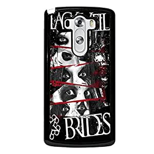 Retro Logo Black Veil Brides Phone Case Cover For LG G3 Black Veil Brides Luxury Pattern