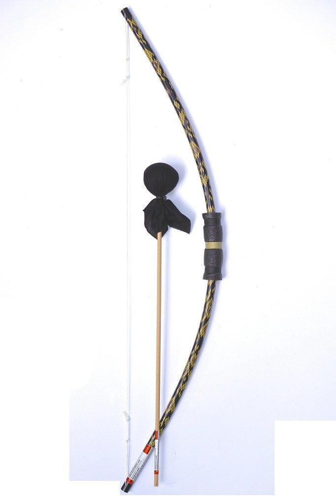 Two Bros Bows Python Snake Bow with Black Arrow Archery Toy Set