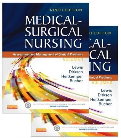 Medical Surgical Nursing Text and Study Guide Package Two Bo