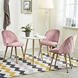 Yaheetech Dining Room Chairs Dining Chairs Pink