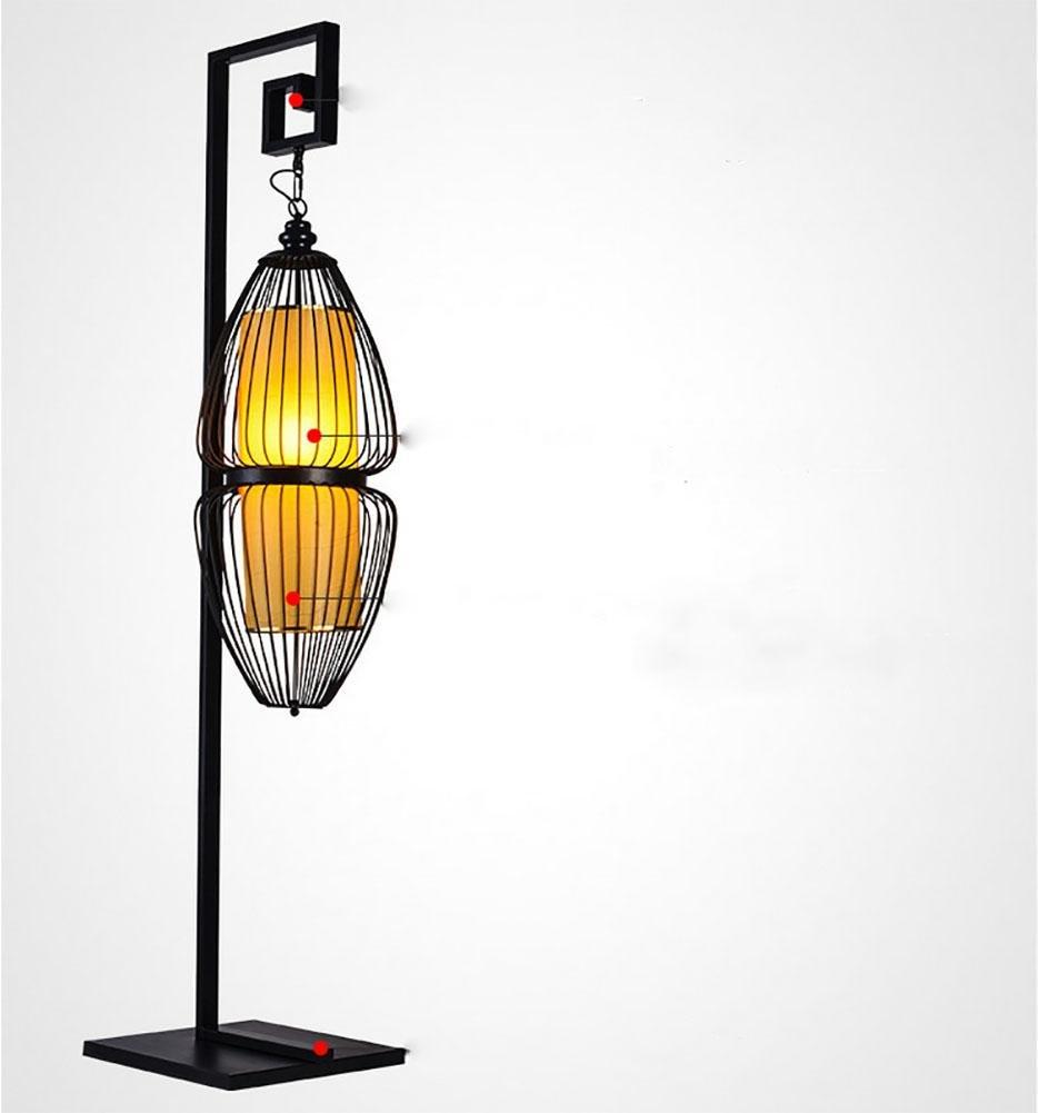 SXJCC Stehlampe LED klassische Möbel chinesische Raumleuchten E27 Hotel arbeitet vertikale Stehleuchte 1800 * 420 (mm) 220V
