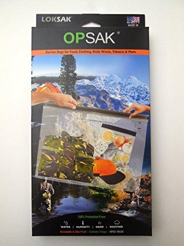 LOKSAK Opsak Barrier 28 X 20 2pk OPD2-28 x by LOKSAK by LOKSAK