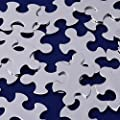 "10pcs tibetara 1/2""x1""(15x25mm) Puzzle shape Stainless Steel Stamping Blank Tags Diy Craft Making Discs"