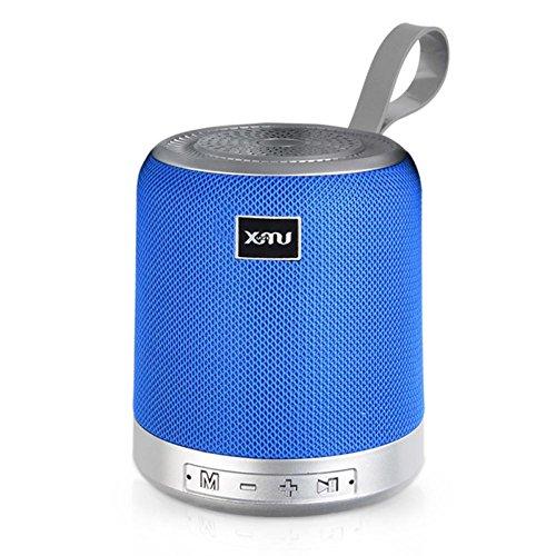 YRD Tech Xmu/Dazzle X-1C Wireless Blueteeth Speaker Card Rewind Bass Portable Audio (Blue) by YRD TECH