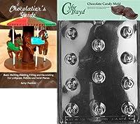 Cybrtrayd Bk-AO006 Cherry Bon-Bon All Occasions Chocolate Candy Mold