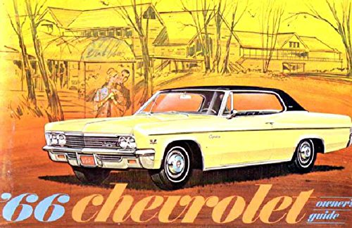 bishko automotive literature 1966 Chevrolet Caprice Impala Owners Manual User Guide Reference Operator Book
