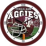 SunTime NCAA Texas A&M Aggies Helmet Wall Clock