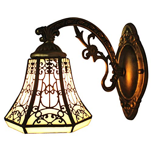 Outdoor Wall Light Stained Glass in US - 9