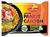 Lucky Me Pancit Canton Sweet and Spicy Flavor, Instant Chow Mein, 20 Count