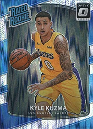 a4bc4bf1d1a 2017-18 Donruss Optic Flash Prizm  174 Kyle Kuzma Los Angeles Lakers Rated  Rookie