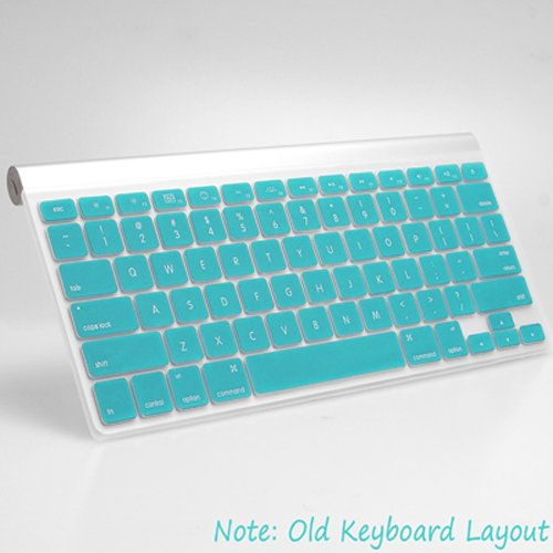 GMYLE Turquoise Robin Egg Blue Keyboard Cover for Macbook Pro Air Retina 13 15 17 US model - Keyboard Skin Protector