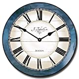 Cheap Carolina Blue Wall Clock, Available in 8 Sizes, Most Sizes Ship 2-3 Days, Whisper Quiet.