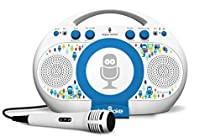 Singing Machine iSM398BT Tabeoke Portable Bluetooth Karaoke System