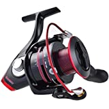 KastKing Sharky II Spinning Reel, Carbon Fiber Drag, Brass Gears, Stainless Steel Components, 41.5 Pounds Max Drag, 10 + 1 Ball Bearings