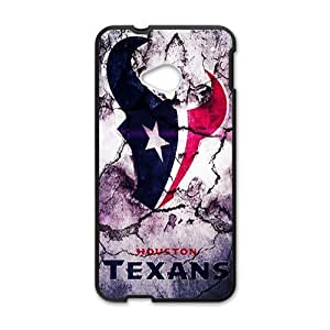 Houston Texans 22 Sports Team Phone Protector Htc One M7Case Cover Shell (Laser Technology)