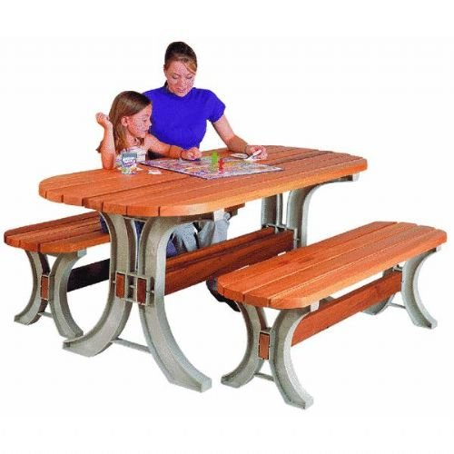 AnySize Picnic Table Set by 2x4 Basics