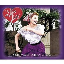 I Love Lucy - 2014 Year-in-a-Box Calendar