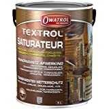 Owatrol Textrol Saturateur pour bois tendres extérieurs 5 L Chêne Dore