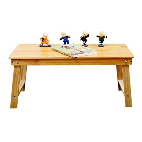 Amazon.com: Mesa plegable de madera para ordenador portátil ...