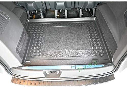 SIXTOL Protezione del Bagagliaio per l/'Automobile Ford Tourneo Custom Vasca Anti-Scivolo e su Misura progettata per Il Trasporto Sicuro di Spesa,Bagagli e Animali Domestici