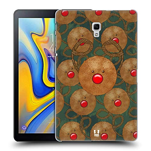 Head Case Designs Rudolph Cookies Mix Christmas Collection Hard Back Case for Samsung Galaxy Tab A 10.5 (2018) (Rudolph Cookie)