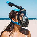 G2RISE SN01 Full Face Snorkel Mask with Detachable