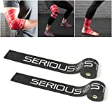 Serious Steel Mobility & Recovery (Floss) Bands |Compression Tack & Flossing (Black Pair)