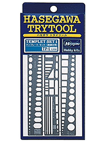 Hasegawa Try Tool Series Template one straight edge (TP1)