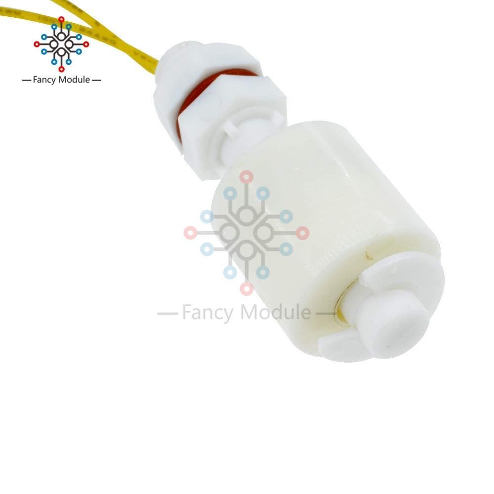 Sellify Sensor de nivel de lÃquido del agua Interruptor de flotador horizontal del interruptor de flotador Controlador de nivel bola plástica: Amazon.es: ...