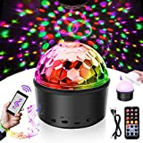 Disco Ball Light,SOLMORE LED Disco Ball Night Lamp Party Lights DJ Light 9W