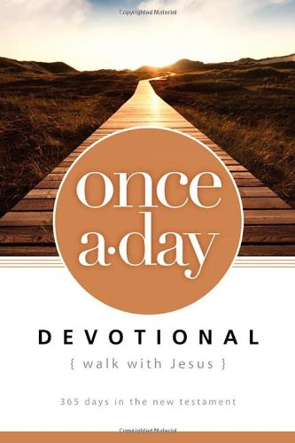 NIV, Once-A-Day Walk with Jesus Devotional, Paperback