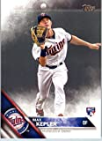2016 Topps Series 2 #475 Max Kepler Minnesota Twins Baseball Rookie Card in Protective Screwdown Display Case