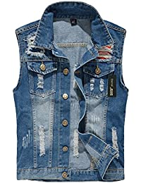 Amazon.com: XXL - Denim Jackets / Coats, Jackets & Vests: Clothing ...