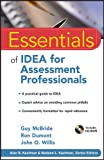 img - for Essentials of IDEA for Assessment Professionals book / textbook / text book