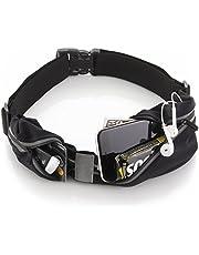 Cangurera ultra ligera Premium/CoWalkers Cinturón Deportivo- iPhone X 6 7 8 Plus Estuche para corredores. El mejor equipo de fitness para el entrenamiento con manos libres. Portateléfono para la cintura reflectante.
