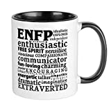 CafePress ENFP Champion Myers-Briggs Personality Mugs Unique Coffee Mug, Coffee Cup