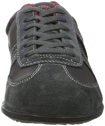 Dockers by Gerli 34sa801-201237, Zapatillas para Hombre Negro (Asphalt/rot)