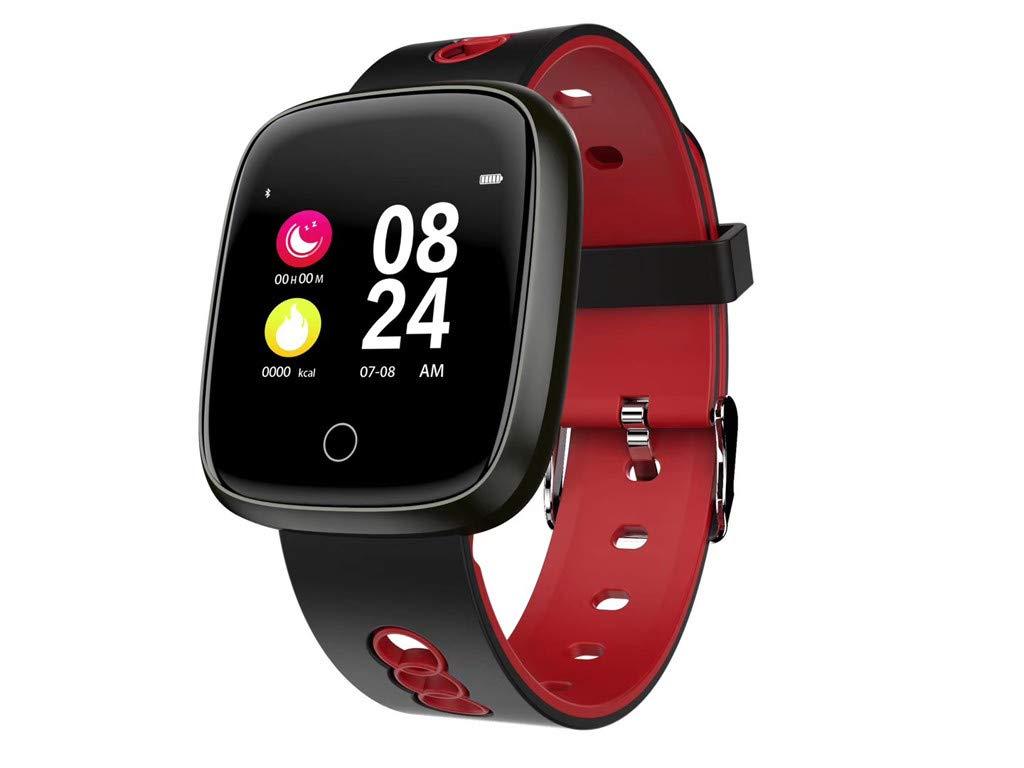 Smart Watch Lightweight Wristband Blood Pressure Heart Rate Monitor Bluetooth Fitness Tracker