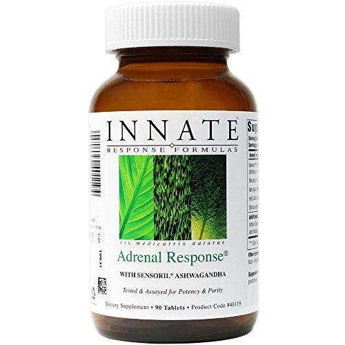 INNATE Response Formulas - Adrenal Response, Supports a Healthy Stress Response, 90 Tablets