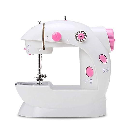 XGHW Máquina de Coser doméstica, Mini máquina de Coser, máquina de ...