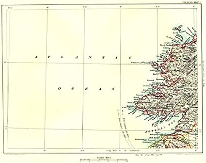 Donegal On Map Of Ireland.Amazon Com Donegal Bay Coast Killybegs Malin Ballyshannon