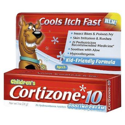 Refroidissement Cream cortisone 10 enfants, une once