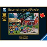 The Kiosk by Pauline Paquin, 1000 Piece Jigsaw Puzzle Made by Ravensburger