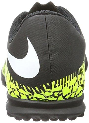 Nike 749912-017, Botas de Fútbol para Niños Negro (Black / White-Volt-Paramount Blue)