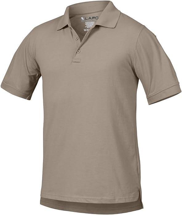 ff155f3bf2e ... uk men antiwrinkle operator tactical short sleeve polo shirt silver tan  xl 60e6a 717ed